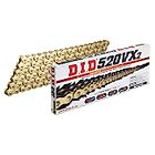 VX Series Chain 520VX2 Gold [with Riveting (ZJ) Joint] - Webike Thailand