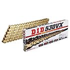 VX Series Chain 530VX Gold [with Riveting (ZJ) Joint] - Webike Thailand