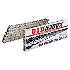 VX Series Chain 530VX Silver [with Riveting (ZJ) Joint] - Webike Thailand