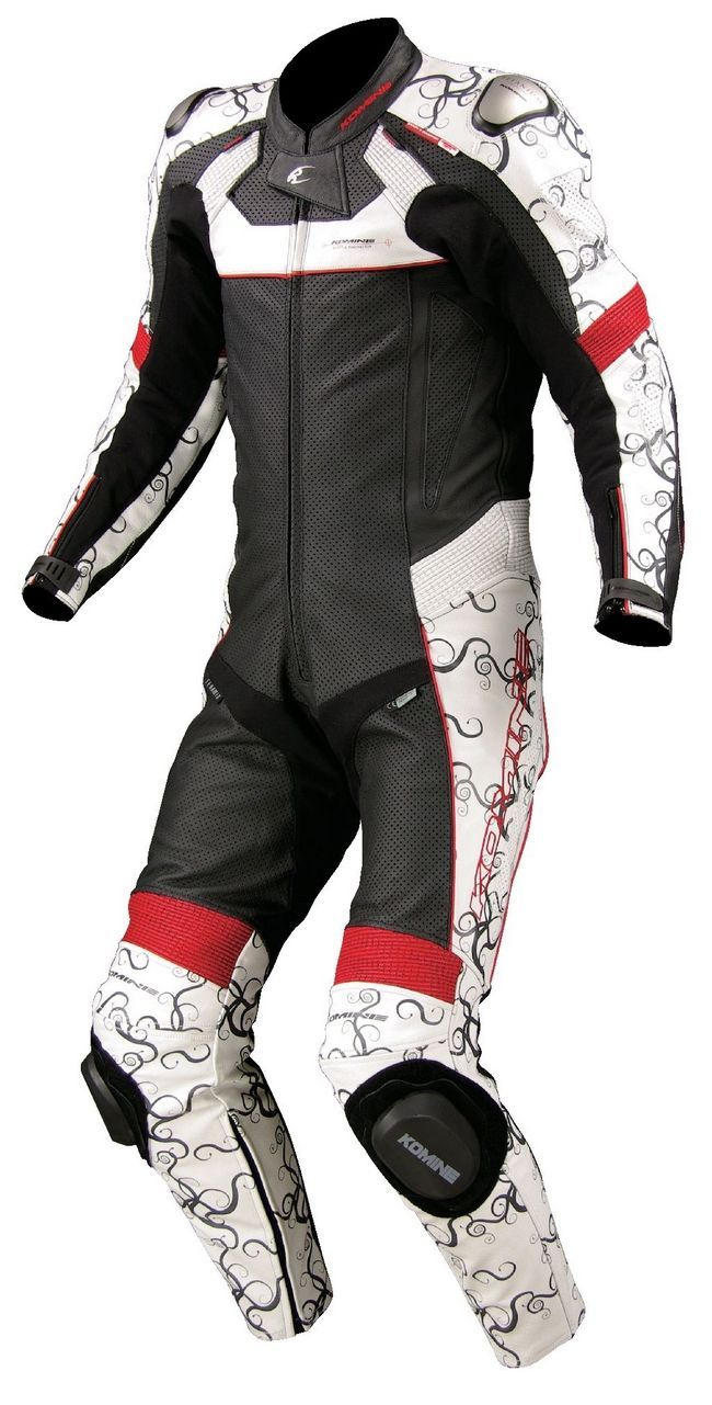S-45 Titanium Leather Suit (Fits Along with (It is possible to mount SK-647) - Webike Thailand